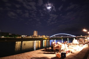 狩野川 夜景
